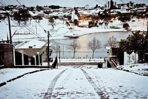 Ser Inquieto - Neve em Guarapuava