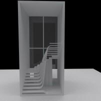 Maquete da escada