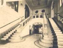 Antigo Hotel Parque Balneário 1950 entrada do Cassino