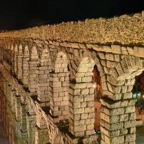 Acueducto_Segovia_noche